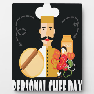 26th February - Personal Chef Day Plaque