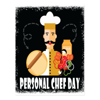 26th February - Personal Chef Day Postcard