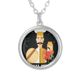 26th February - Personal Chef Day Silver Plated Necklace