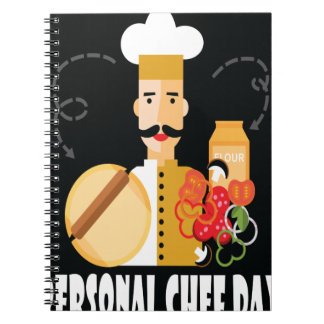 26th February - Personal Chef Day Spiral Notebook
