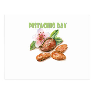 26th February - Pistachio Day - Appreciation Day Postcard