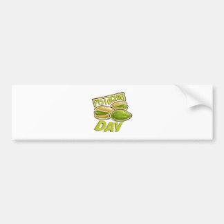 26th February - Pistachio Day Bumper Sticker