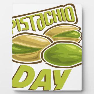 26th February - Pistachio Day Plaque