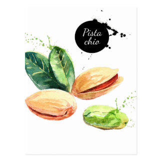 26th February - Pistachio Day Postcard