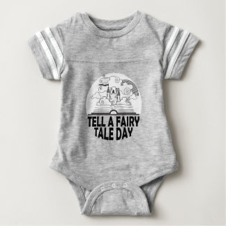 26th February - Tell A Fairy Tale Day Baby Bodysuit