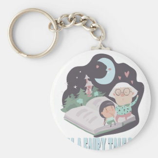 26th February - Tell A Fairy Tale Day Basic Round Button Keychain