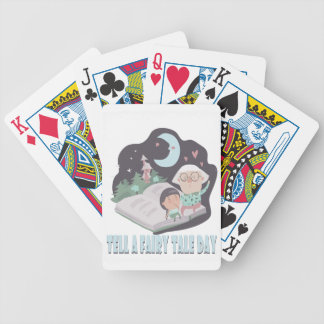 26th February - Tell A Fairy Tale Day Bicycle Playing Cards
