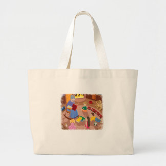 26th February - Tell A Fairy Tale Day Large Tote Bag