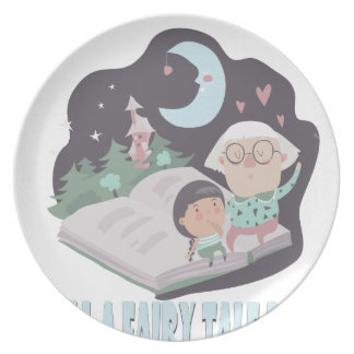 26th February - Tell A Fairy Tale Day Party Plates