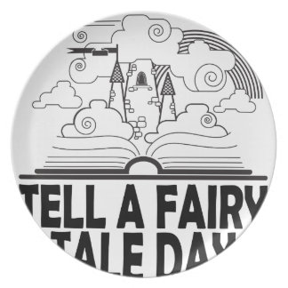 26th February - Tell A Fairy Tale Day Plate