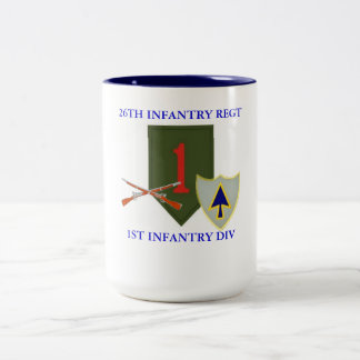 26TH INFANTRY REGT 1ST INFANTRY DIV MUG