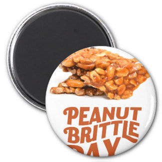 26th January - Peanut Brittle Day Magnet