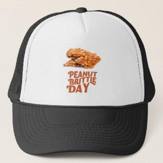 26th January - Peanut Brittle Day Trucker Hat