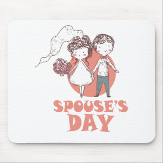 26th January - Spouse's Day Mouse Pad