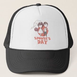 26th January - Spouse's Day Trucker Hat