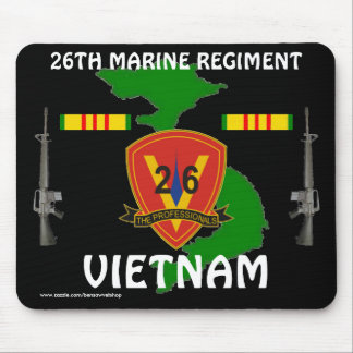 26th Marine Vietnam Mousepad 2/b
