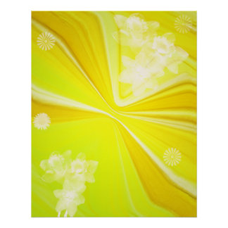 272188 yellow background greeting card stationery print
