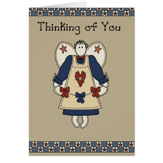 2765 Country Star Angel Thinking of You Card