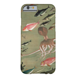 27. 諸魚図, 若冲 Various Fishes, Jakuchū, Japan Art Barely There iPhone 6 Case