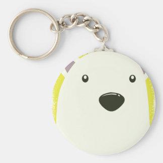 27th February - Polar Bear Day Basic Round Button Keychain