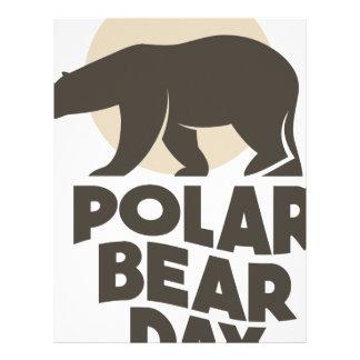 27th February - Polar Bear Day Letterhead