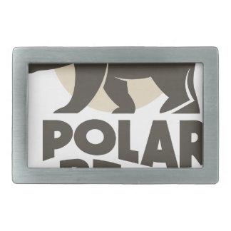 27th February - Polar Bear Day Rectangular Belt Buckles