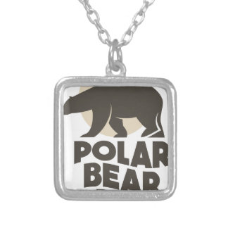 27th February - Polar Bear Day Silver Plated Necklace