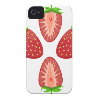 27th February - Strawberry Day - Appreciation Day iPhone 4 Cover
