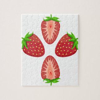 27th February - Strawberry Day - Appreciation Day Jigsaw Puzzle