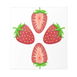 27th February - Strawberry Day - Appreciation Day Notepad