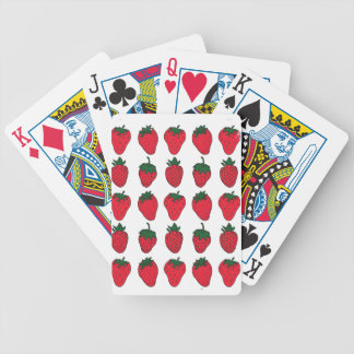 27th February - Strawberry Day Bicycle Playing Cards