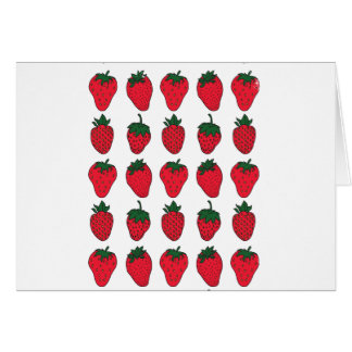 27th February - Strawberry Day Card