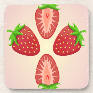 27th February - Strawberry Day Coaster