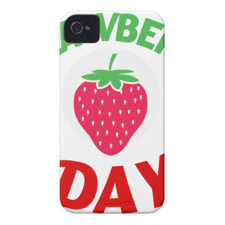 27th February - Strawberry Day iPhone 4 Cover