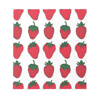 27th February - Strawberry Day Notepad