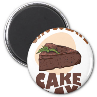 27th January - Chocolate Cake Day Magnet