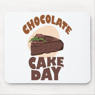 27th January - Chocolate Cake Day Mouse Pad