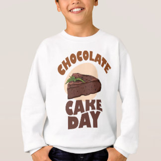 27th January - Chocolate Cake Day Sweatshirt
