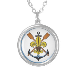 27th Limassol Sea Scouts Silver Plated Necklace