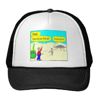 280 Google Earth Cartoon in color Hat