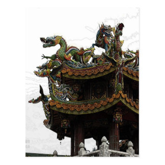 285 - Dragon Temple Postcard
