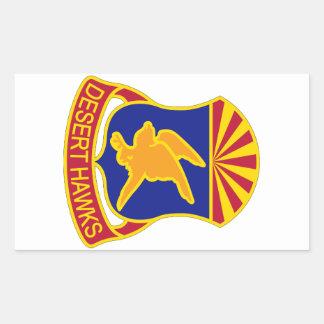 285th Aviation Regiment - Desert Hawks Sticker