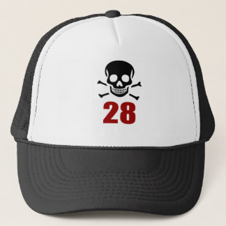 28 Birthday Designs Trucker Hat