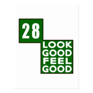 28 Look Good Feel Good Postcards