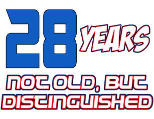 28 YEAR OLD BIRTHDAY DESIGNS CARD