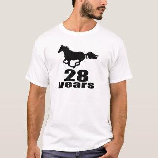 28 Years Birthday Designs T-Shirt