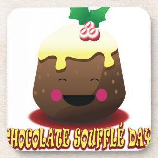 28th February - Chocolate Soufflé Day Coaster