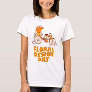 28th February - Floral Design Day T-Shirt