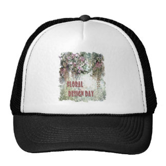 28th February - Floral Design Day Trucker Hat