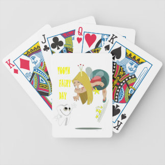 28th February - Tooth Fairy Day - Appreciation Day Bicycle Playing Cards